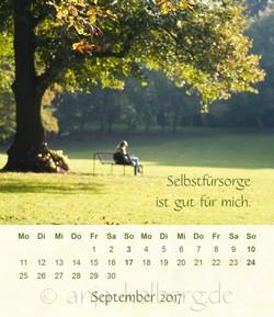 Tischkalender 2017 Ganz ich selbst sein