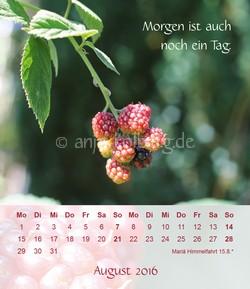 Tischkalender 2016 - Alles wird gut.