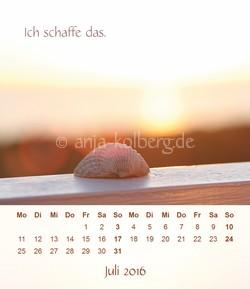 Tischkalender 2016 Ich schaffe das