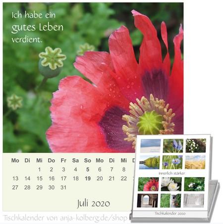 Tischkalender Zeit für meine Seele
