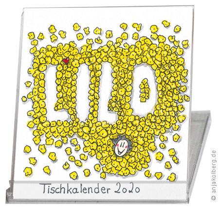 Lilo Tischkalender 2020