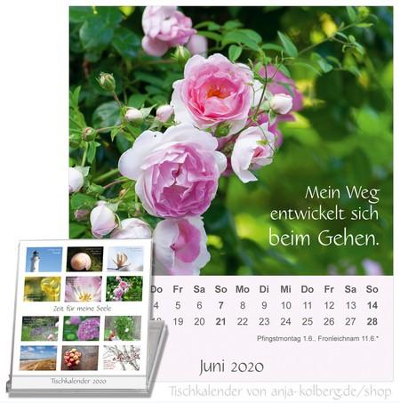 Zeit für meine Seele Kalender 2020