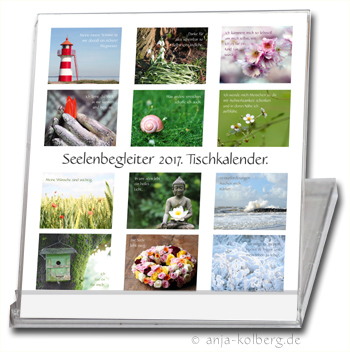 Tischkalender Seelenbegleiter 2017