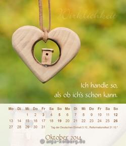 Tischkalender von Anja Kolberg