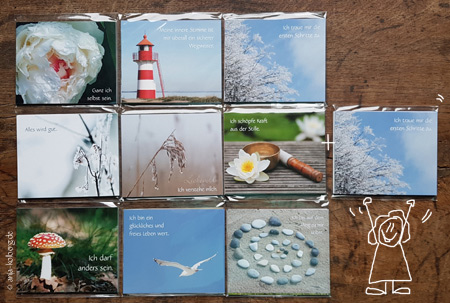 Minikarten-Paket
