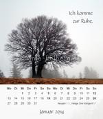 Tischkalender Kurze Meditationen 2014