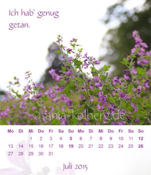 Tischkalender 'Balsam für die Seele'