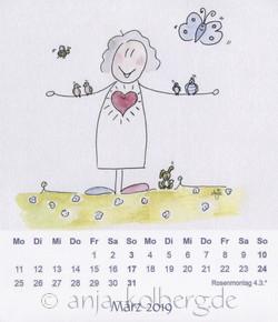 März 2019 - Lilo-Kalender