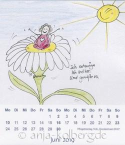 Juni 2019 - Tischkalender Lilo