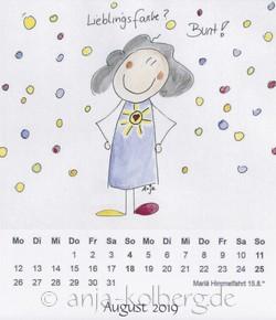 August 2019 - Lilo Kalender