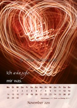 November 2011 Wandkalender