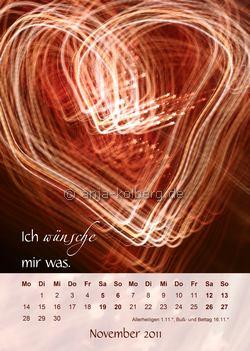 November 2011 Wandkalender