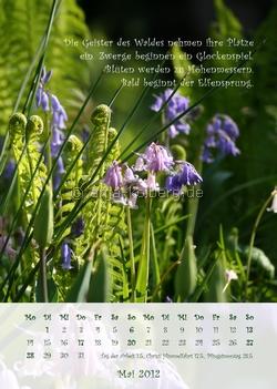 Wandkalender 2012 - Maiblatt