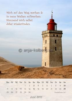 Juni 2012 Wandkalender