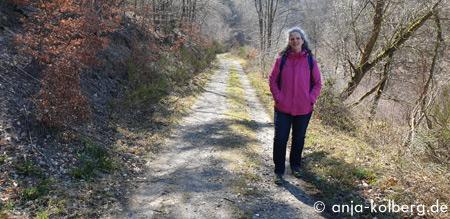 Anja wandert