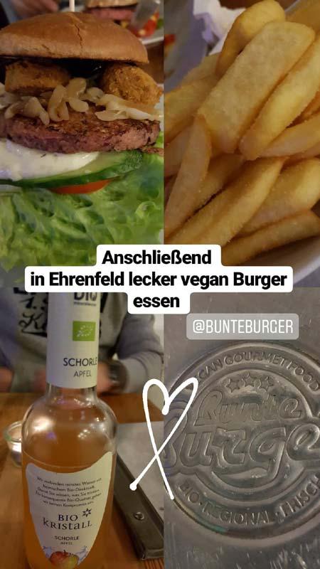 Bunte Burger Köln Vegan schlemmen