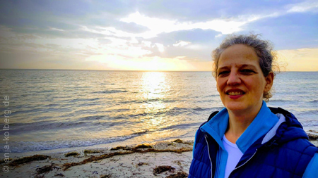Anja am Meer