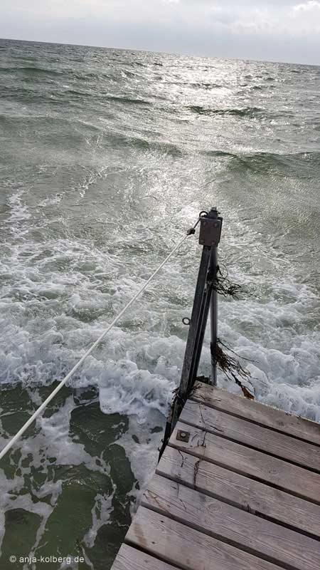 Steeg in die Ostsee