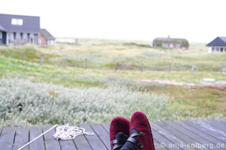 Harboøre Ferienhaus mit Blick zur Düne