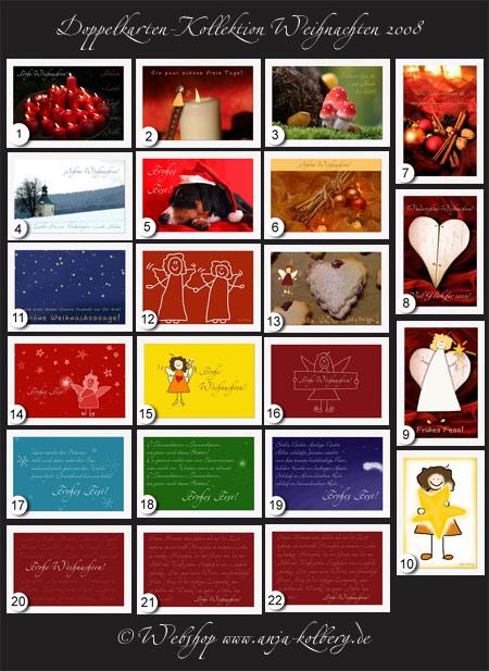 Weihnachtskarten-Kollektion