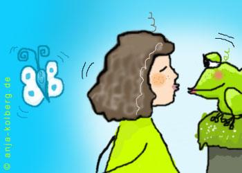 Lilo und der Frosch