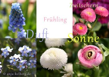 Eine neue Frühlings-Ecard