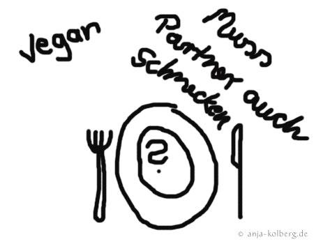 Essen vegan und normal?