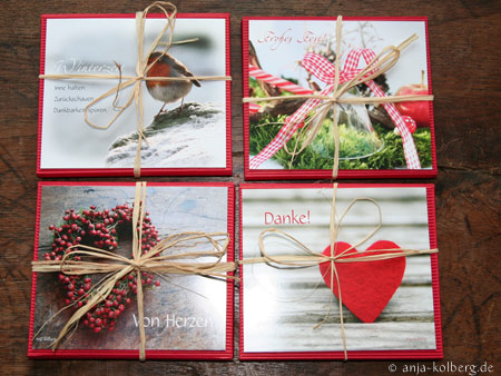 Geschenkverpackte Kalender