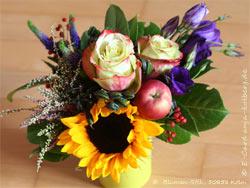 Blumengruß E-Card