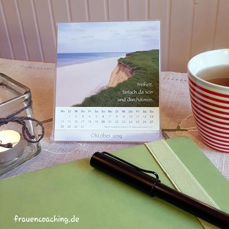 Tischkalender für persönliche Weiterentwicklung
