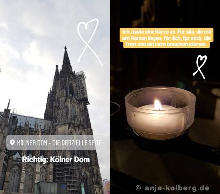 Licht für die Seele im Kölner Dom