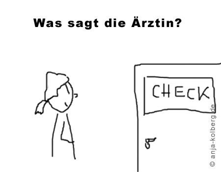 Checkup Ärztin