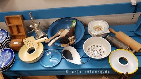 Blaue Küchenhelfer