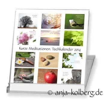 Tischkalender Meditation 2014
