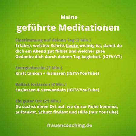 Meditationen von Anja