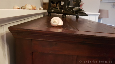 Möbelstück passt genau unter das Board