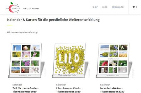 Neuer Webshop Anja Kolberg Einfach anders