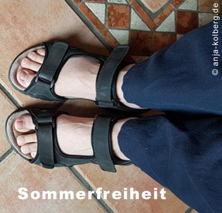 Sommerfrei für die Füße