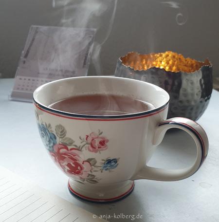 Tee dampfen lassen