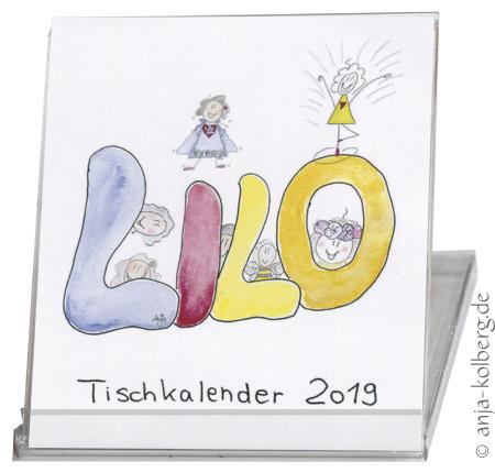 Lilo Tischkalender 2019