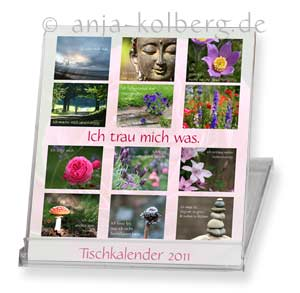 Tischkalender 2011: Ich trau mich was
