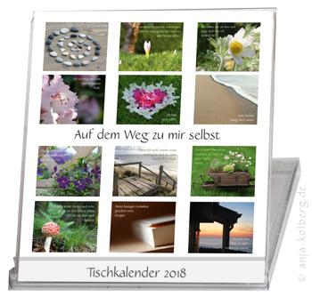 Klick zur Kalendervorstellung von: Tischkalender Auf dem Weg zu mir selbst