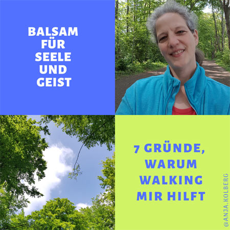 Walking hilft Seele und Geist