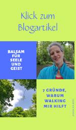 Warum Walking Balsam für die Seele ist
