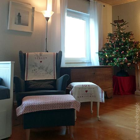 Weihnachten im dänischen Stil