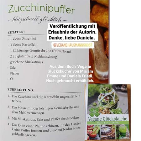Rezept Zucchinipuffer