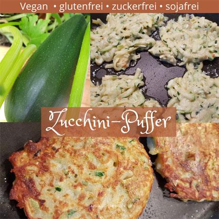 Vegane Zucchinipuffer