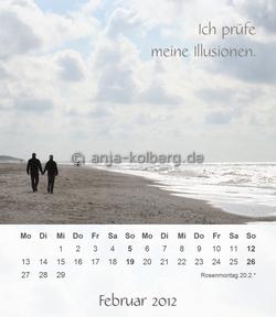 Februar - Tischkalender 2012