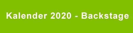 Kalender 2020 - Backstage
