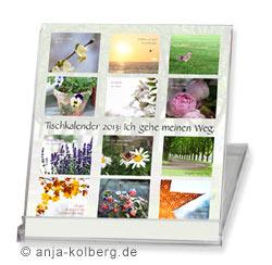 Tischkalender 2013 - Ich gehe meinen Weg